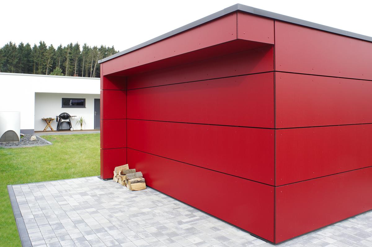 design gartenhaus classic das flachdach gartenhaus ger tehaus. Black Bedroom Furniture Sets. Home Design Ideas