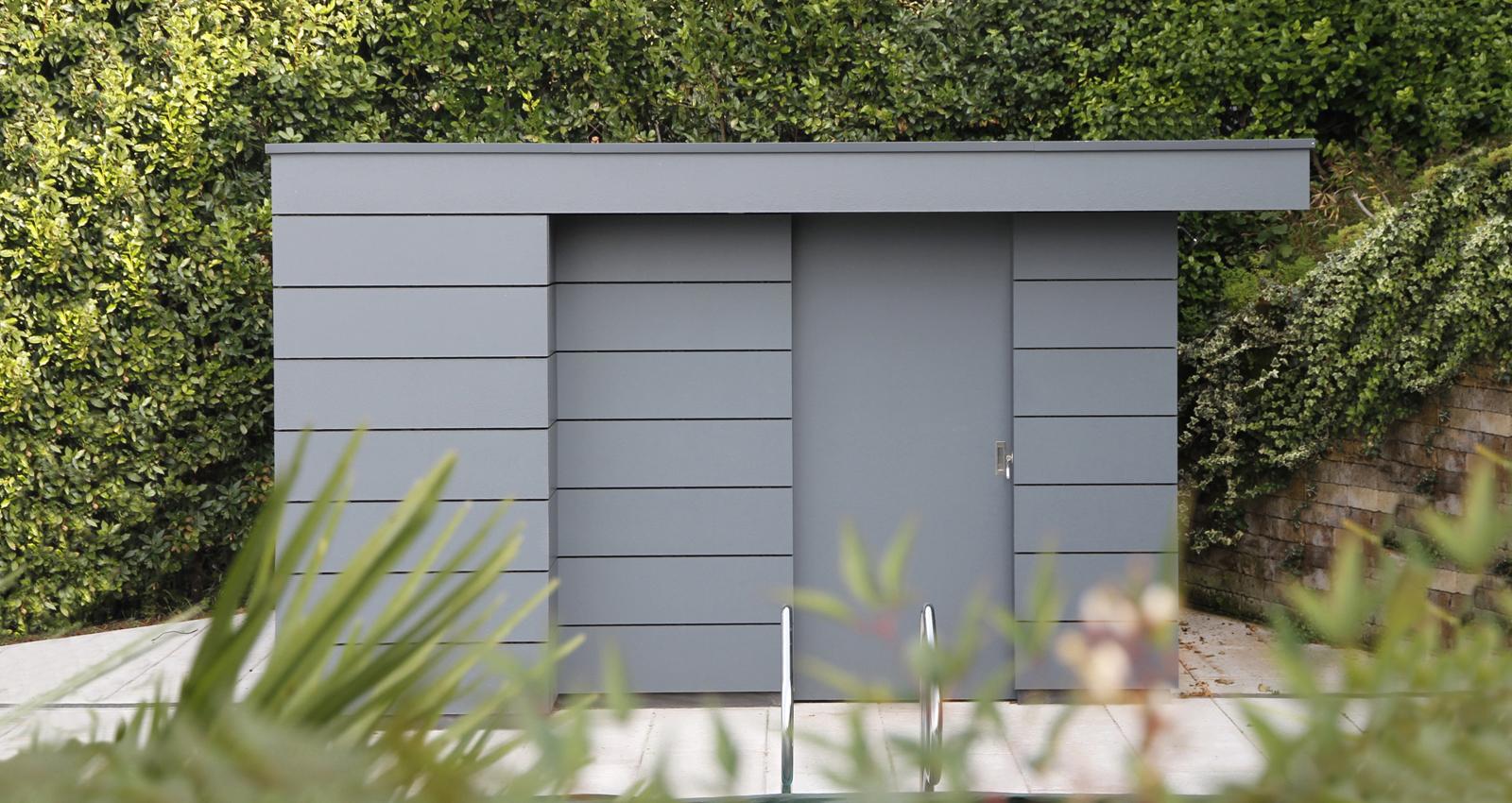 Gartenhaus Box - das Kubus Gartenhaus