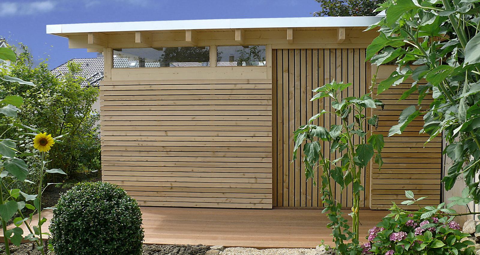 Design Gartenhaus Moderne Gartenhauser Schicke Gartensauna Auch