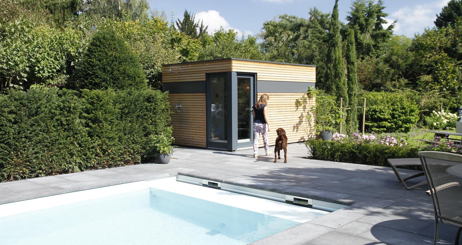 Design Gartenhaus moderne Gartenhäuser schicke Gartensauna auch ...