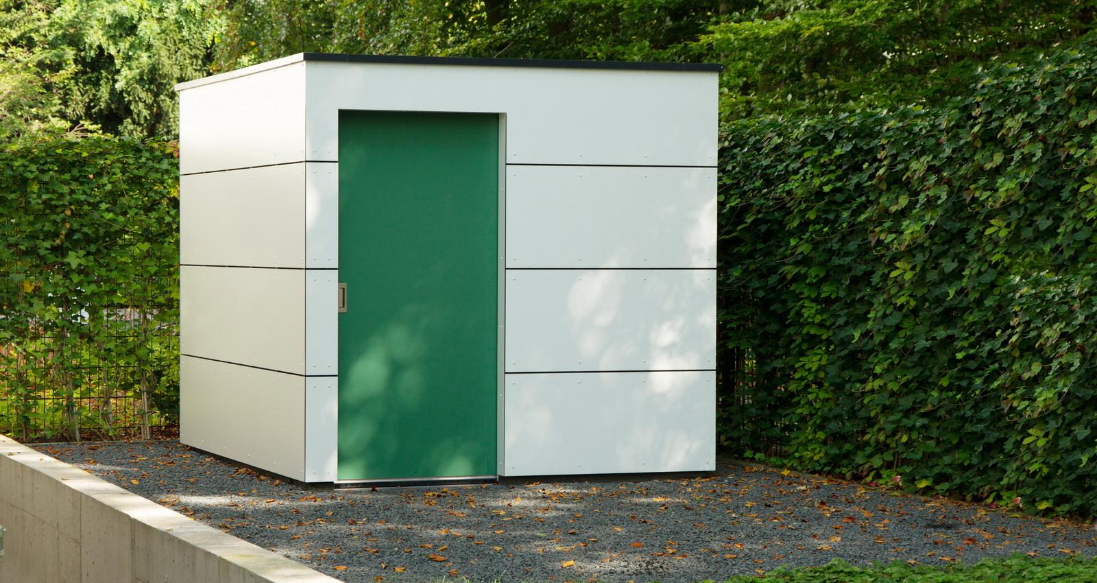 Design Gartenhaus moderne Gartenhäuser schicke Gartensauna auch